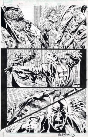 MIKE DEODATO ORIGINAL ART - AMAZING SPIDER-MAN #517 PAGE 16 Comic Art