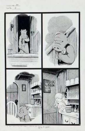 Dave Sim Original Comic Art - Cerebus the Aardvark #144 page 14 (1991)