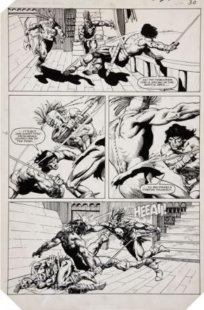 Marc Silvestri Original Comic Art - Conan the King #20 page 26