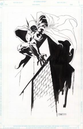 Tim Sale Original Comic Art - Batman Pin-Up