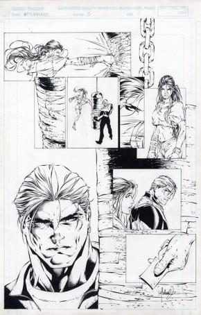 Michael Turner Original Art - Witchblade #3 Page 8