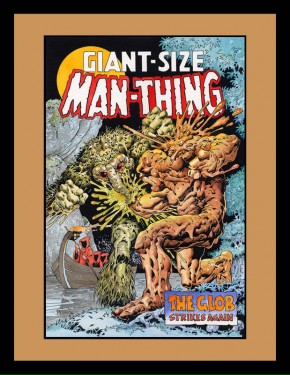 Giant-Size Man-Thing #1 Cover Recreation
