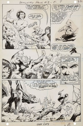 BERNIE WRIGHTSON ORIGINAL ART - 1969 WITCHING HOUR #3 PAGE 4 Comic Art