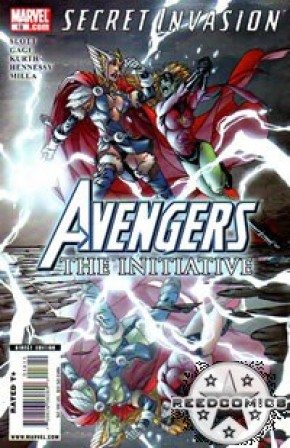 Avengers The Initiative #18