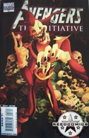 Avengers The Initiative #18 (1:10 Zombie Variant)