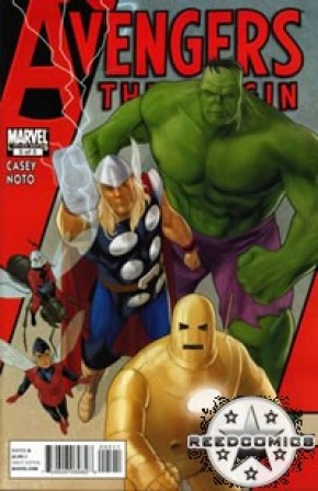Avengers The Origin #5