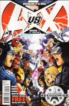 Avengers vs X-Men #1 (2nd Print)