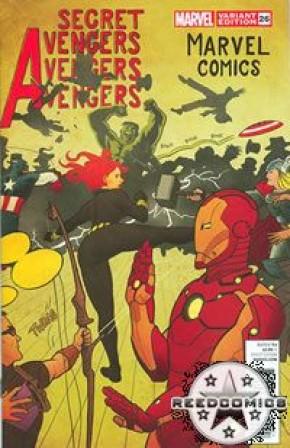 Secret Avengers #26 (1:25 Incentive)