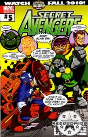 Secret Avengers #5 (1:15 Incenitve)