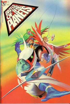 Battle of the Planets #1 (Chrome Cover)