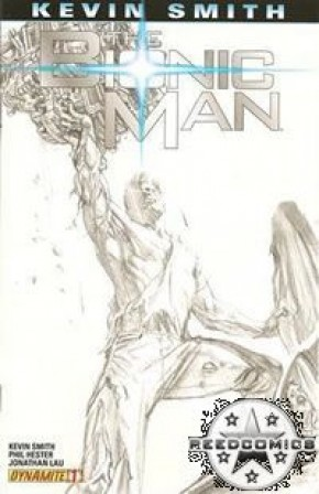 Bionic Man by Kevin Smith #1 (1:20 Sketch Incentive)