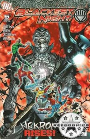 Blackest Night #5 (2nd Print)