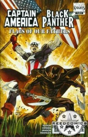 Captain America Black Panther Flags of Our Fathers #1