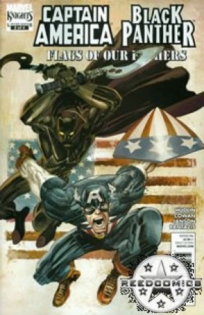 Captain America Black Panther Flags of Our Fathers #2