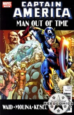 Captain America Man Out Of Time #1