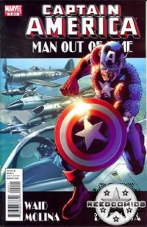 Captain America Man Out Of Time #2