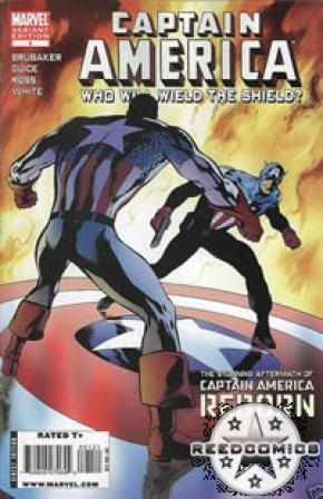Captain America Reborn Who Will Wield The Shield (Variant Cover)