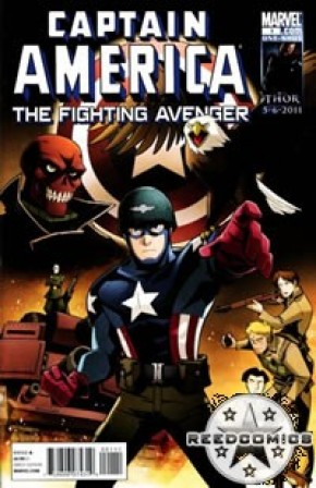Captain America Fighting Avenger