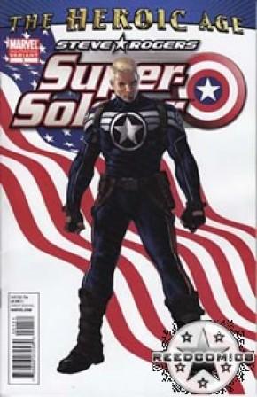 Steve Rogers Super Soldier #1 (2nd Print)