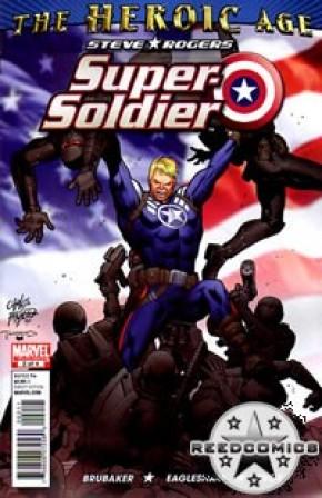 Steve Rogers Super Soldier #2
