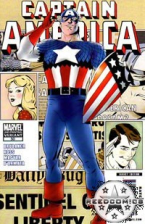 Captain America Volume 5 #50 (2nd Print)