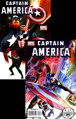 Captain America Volume 5 #600 (Epting & Ross Cover Set)