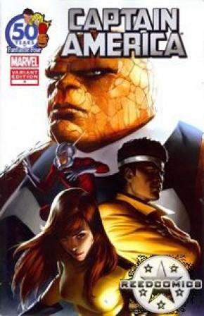 Captain America #4 (Fantastic Four Anniversary Variant)