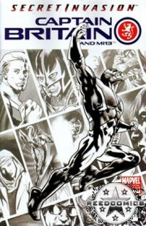 Captain Britain & MI 13 #1 (3rd Print)