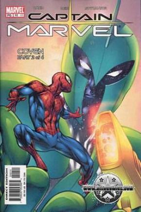 Captain Marvel Volume 4 #10