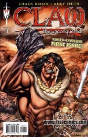 Claw the Unconquered #1 (Cover A)