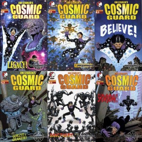 Jim Starlins Cosmic Guard #1,#2,#3,#4,#5,#6 Set