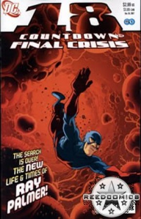 Countdown to Final Crisis #18
