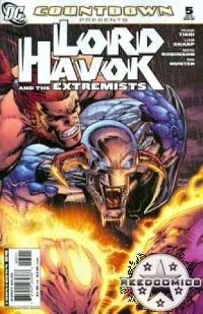 Countdown Presents Lord Havok and the Extremists #5