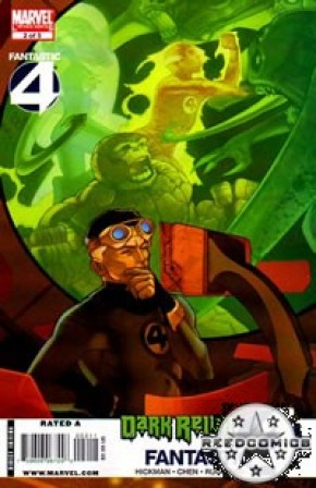 Dark Reign Fantastic Four #2