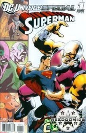 DC Universe Special Superman Mongul