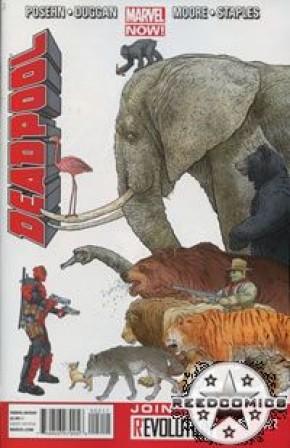 Deadpool Volume 4 #2 (1st Print)