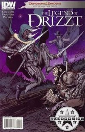 Dungeons and Dragons Drizzt #4 (Cover B)