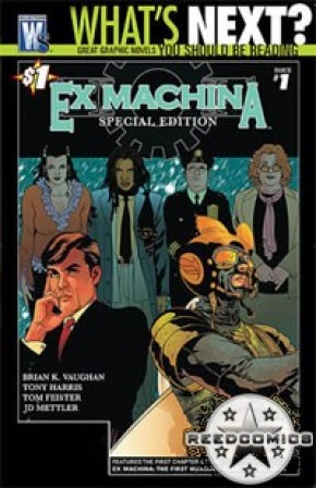 Ex Machina #1 (New Printing)