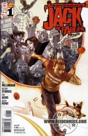 Jack of Fables #1