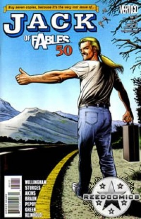 Jack of Fables #50