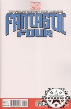 Fantastic Four Volume 4 #1 (Blank Variant)