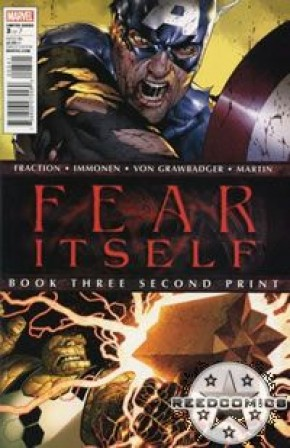 Fear Itself #3 (2nd Print)