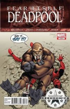 Fear Itself Deadpool #3