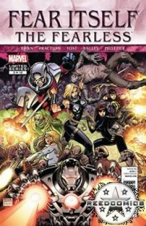 Fear Itself The Fearless #3