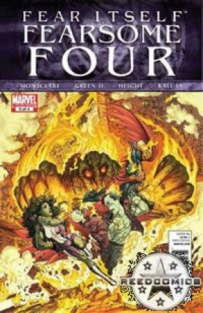 Fear Itself Fearsome Four #4