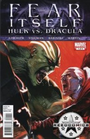 Fear Itself Hulk vs Dracula #1