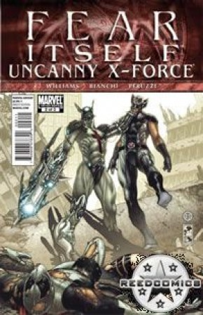 Fear Itself Uncanny X-Force #2