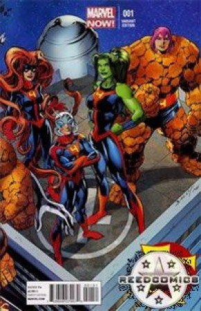 FF Volume 2 #1 (Bagley Connecting Variant Cover)