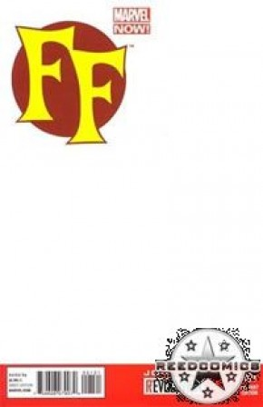 FF Volume 2 #1 (Blank Variant Cover)