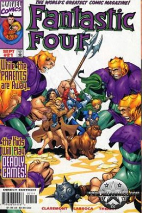Fantastic Four Volume 3 #21 (#450)